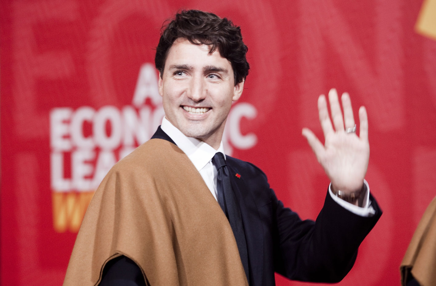Justin Trudeau, Prime Minister of Canada. Official photograph of the APEC Presidents Summit 2016 in Lima.