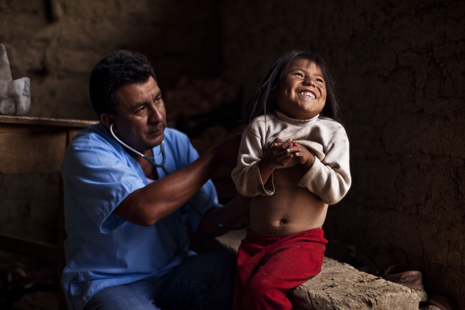 Doctor Pablo Ramirez Pasache. Rural doctor. Querco, Huancavelica. Photographs for the Swiss Cooperation Office in Peru.